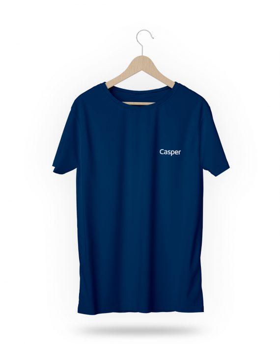 Casper Baskılı Baskılı T-Shirt